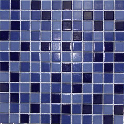 福建群舜泳池磚純色陶瓷馬賽克